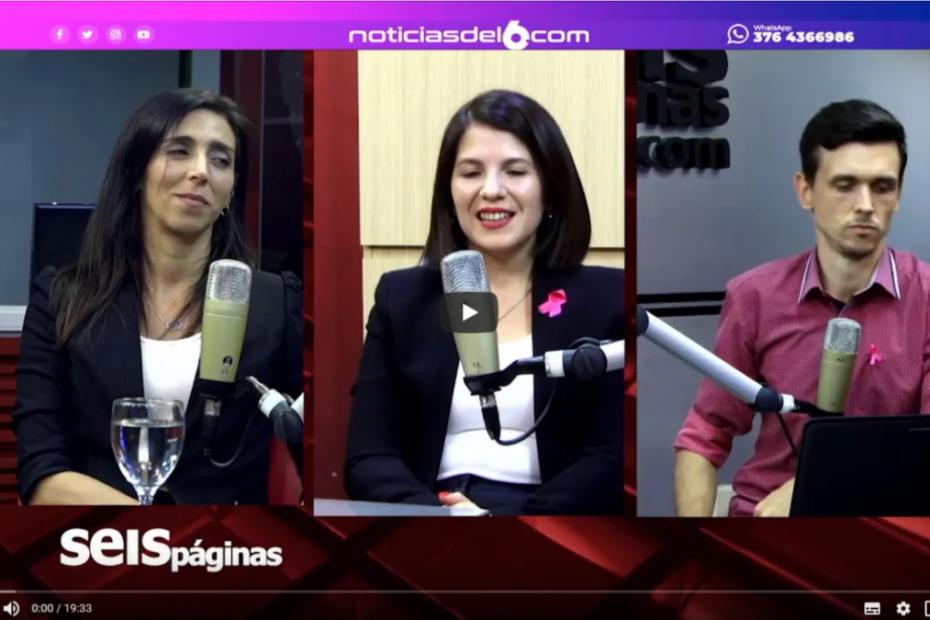 Graciela Mana en Noticias del 6