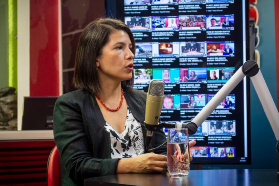 Entrevista en Canal 6 - Rita Nuñez