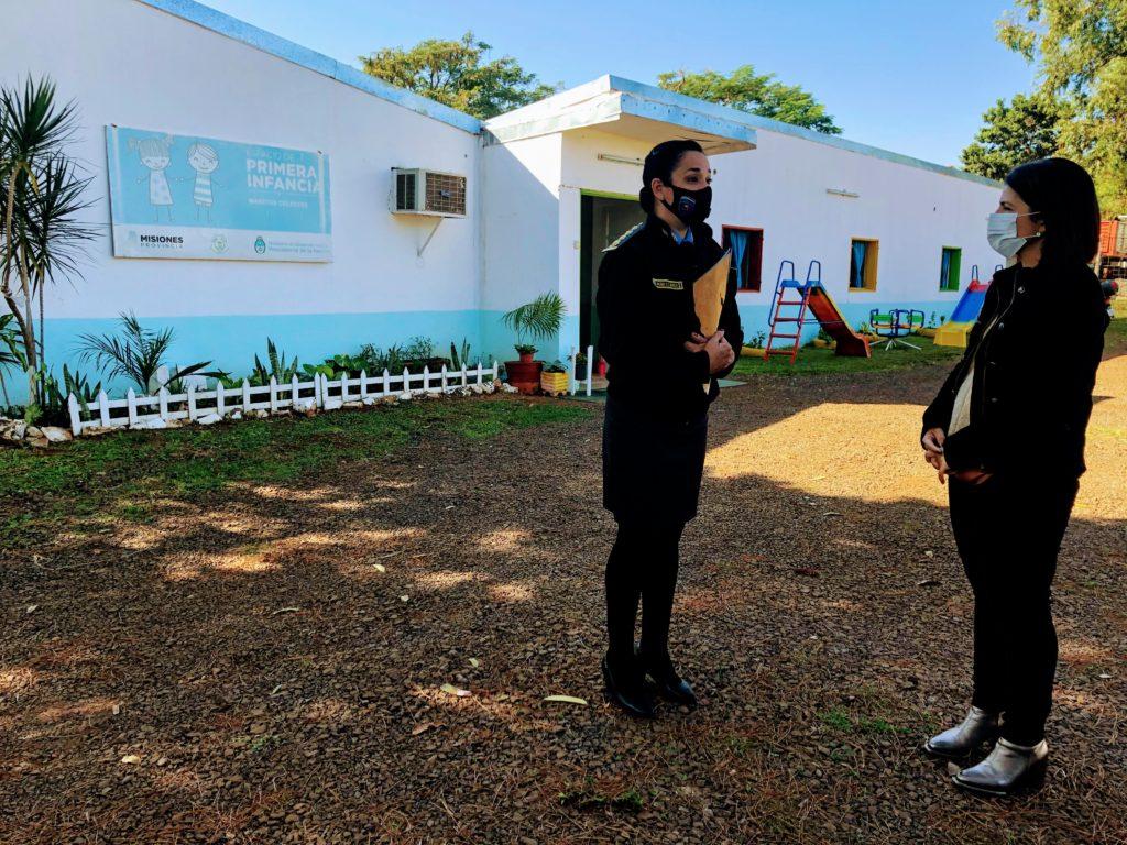 Rita Nuñez Lactario Jardín Maternal Servicio Penitenciario