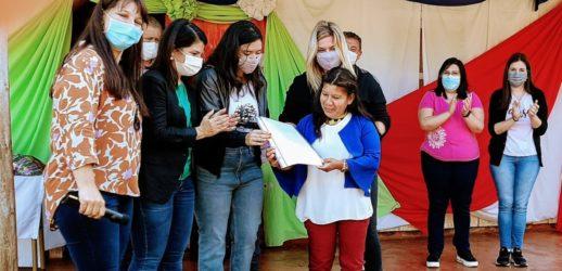 Encuentro de Mujeres de los Pueblos Originarios de Misiones, Tekoa Yvytu Porá, Aristóbulo del Valle